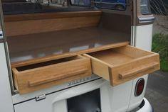 Rear shelf draws
