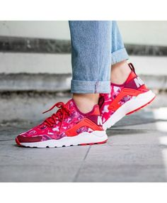 c3d786b26404 Nike Air Huarache Run Ultra Print Trainers
