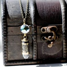 Unakite Stone Etched 45ACP Necklace - The Gun Boutique™