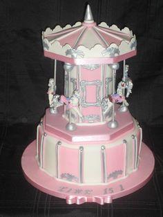 Carousel cake :)