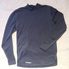 Under Armour Men's Shirt UA ColdGear Armour Mock Compression shirt. Great for cold weather!! Worn once. Under Armour Tops Tees - Long Sleeve