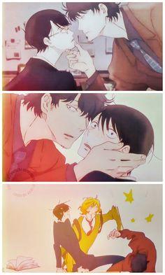 doukyuusei: Porque ame esta escena(T▽T)