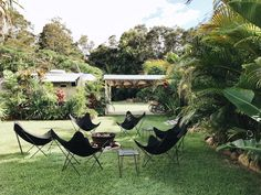 Not sure where to stay in the hip area of Canggu, Bali? No matter what your budget, these are the most beautiful Airbnbs in Canggu to ensure a great stay. Outdoor Rooms, Outdoor Gardens, Indoor Outdoor, Outdoor Living, The Atlantic Byron Bay, Tulum Beach Hotels, Beach Road, Swimming Pools Backyard, House Landscape