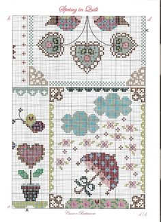 Cuore e Batticuore - Spring in Quilt - pattern part 4 of 4