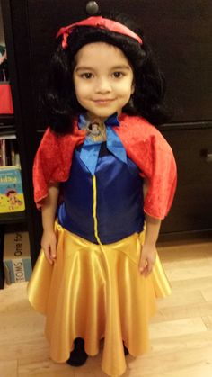 A simple yet creative approach to hand stitching your own DIY Snow White Costume for toddlers. Diy Snow White Costume, Toddler Costumes, Hand Stitching, Desi, Toddlers, Asian, Disney Princess, Simple, Creative