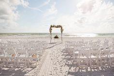 Beach Ceremony Set up Florist: Signature Florals Photographer: Limelight Photography Videographer: Fidelis Films Off-Site Wedding Planner: CocoLuna Events Marco Island Wedding Sunset Wedding, Our Wedding, Wedding Beach, Engagement Photography, Wedding Photography, Wedding Planner, Destination Wedding, Beach Ceremony, Marco Island