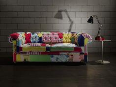 I love love this sofa.  Un #Divano #Chesterfield rivisitato in chiave contemporanea?