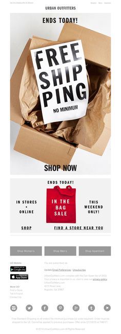Urban Outfitters - You have 24 hours!