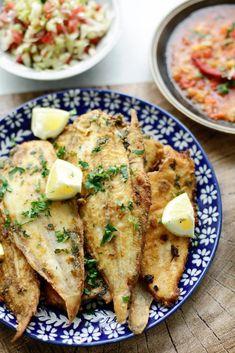 Gebakken sliptong | Kookmutsjes Dutch Recipes, Fish Recipes, Seafood Recipes, Cooking Recipes, Belgium Food, Ras El Hanout, How To Cook Fish, Fish And Seafood, Easy Meals