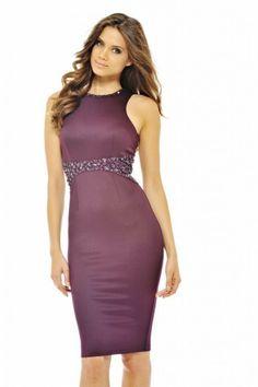 Jewelled  Midi   Dress