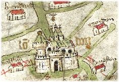 London in the Gough Map, c. 1375