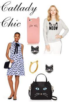Cat Lady Chic with #KateSpade !