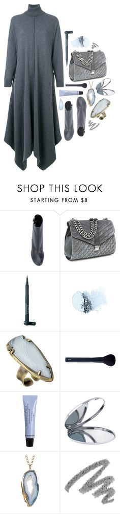 """Sweater Dress"" by deepwinter ❤ liked on Polyvore featuring STELLA McCARTNEY, Nine West, Laura Geller, Clé de Peau Beauté, Kendra Scott, Cos Bar by Cos Bar, Miss Selfridge, Yves Saint Laurent and sweaterdresses"