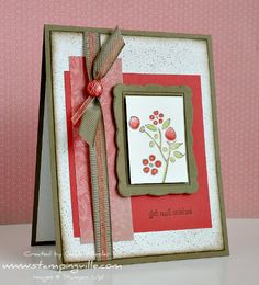 stampin up get well card ideas - Google Search
