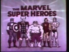 Marvel Super Heroes (1966) - INTRO IN COLOR AND A CAPTAIN AMERICA BIO