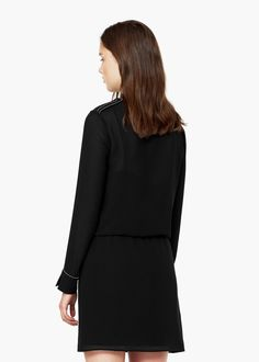WRAP NECKLINE DRESS #style #fashion #trend #onlineshop #shoptagr
