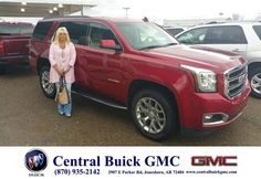https://flic.kr/p/F6pkt3   Happy Anniversary to Judy on your #GMC #Yukon from Hutch Hutchinson at Central Buick GMC!   deliverymaxx.com/DealerReviews.aspx?DealerCode=GHWO