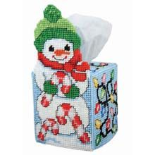 Light Up the Night Tissue Box Plastic Canvas Kit - Herrschners