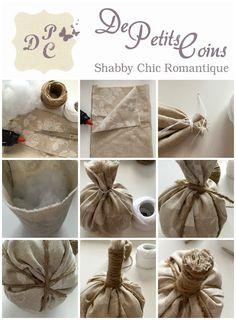 zucche stoffa tutorial - fabric pumpkin tutorial