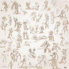 ArtStation - old doodles, Xavier Houssin