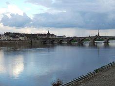 The Loire as it flows through Blois.
