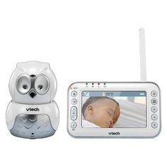 VTech Communications Safe & Sound VM344 Expandable Digital Video Baby Monitor with Pan & Tilt Camera and Automatic Night Vision For Sale wirelesssecurityc...