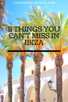 Ibiza Old Town, Formentera and Cafe Mambo are among the top 11 things you can't…