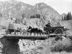 Freighting to the Ouray Mines in Colorado