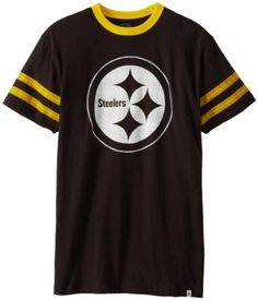 NFL Pittsburgh Steelers Mens Pick N Roll TShirt Jet Black Small *** Check this awesome product by going to the link at the image.