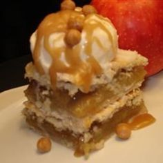 Danish Pastry Apple Bars I Recipe
