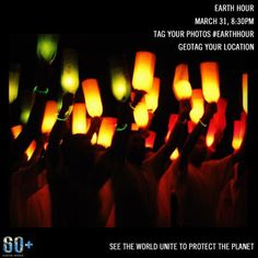 @Earthhour campaign ... Grab your phone, take a photo during Earth Hour using Instagram, tag with #EarthHour and watch the world unite!