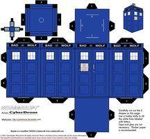 Doctor Who Custom Cubeecraft Templates