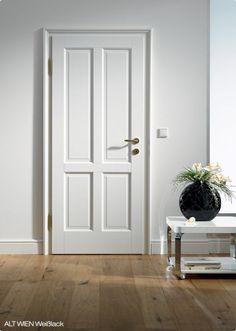 Zimmertüren holz landhausstil  weiße Zimmertüren Komplettset bei Türenheld.de | Haus | Pinterest
