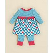 Offspring Infant Girls' Heart Dress & Leggings - Sizes 3-12 Months