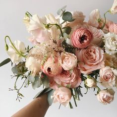 Wedding flowers and bouquet inspiration from our Pomme brides and other real brides whose style we love Bridal Flowers, Beautiful Flowers, Flowers Dp, Floral Wedding, Wedding Bouquets, Wedding Flower Inspiration, Colour Inspiration, Planting Flowers, Floral Arrangements