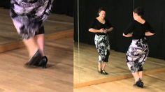 Técnica de baile, nivel intermedio: Pies con brazos