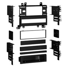 Metra 99-7501 Installation Multi-Kit for Select 1986-1997 Mazda Vehicles with Sub-Dash Mount Radios (Black)