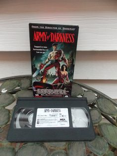 1992 Army of Darkness VHS Movie Tape by PfantasticPfindsToo, $5.99