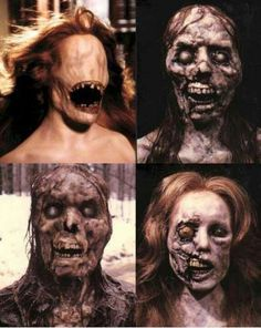 Dick Smith ghost makeup from the film Ghost Story. I love that man. Ghost Makeup, Movie Makeup, Horror Makeup, Scary Makeup, Sfx Makeup, Makeup Remover, Maquillage Halloween, Halloween Makeup, Halloween Ideas