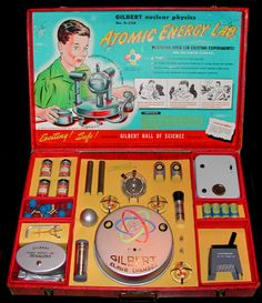 Atomic Energy Laboratory- actually removed from the toy market because of traces of radioactivity