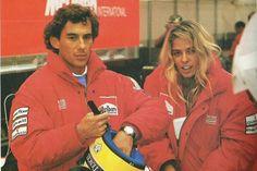 Adriane entrou na vida de Senna em 1993