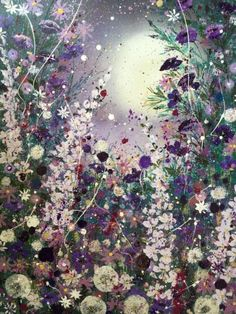 Love in the moonlight, large canvas