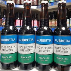 Aubretia - 5.5% Black IPA from @horsforth_brewery available now in 330ml bottles