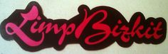 Limp Bizkit 9.5x3 large STICKER DECAL by ALilBitOEraThang on Etsy