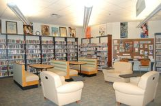 The new & improved Teen Area! The furniture is oh so comfortable. Check it out for yourself!
