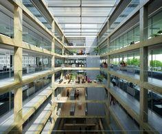 AZC Atelier Zündel Cristea  · Extension of the WHO headquarter
