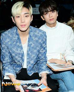 Jongup and Youngjae @ Seoul Fashion Week