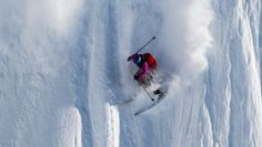 Angel Collinson, the female skier who was honored this September with the award for the Best Female Freeride Performance at the Intern­ational Freeskiing...