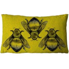 It's bright, beautiful and has bee's on it...what's not to love. Timorous Beasties Cushions - Three Bee