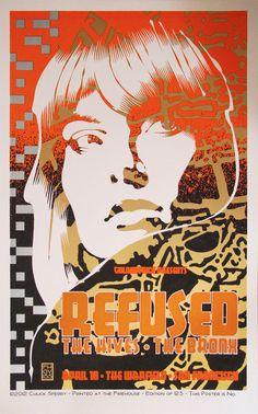 Refused, The Hives - affiches rock débarquent à Paris